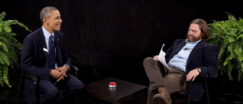 Funny thing is, Barack Obama's 'Between Two Ferns' segment works