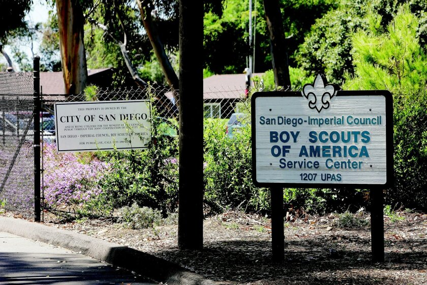 The Boy Scouts San Diego-Imperial Council leases 16 acres in Balboa Park and a half-acre on Fiesta Island, both of which are city-owned land.