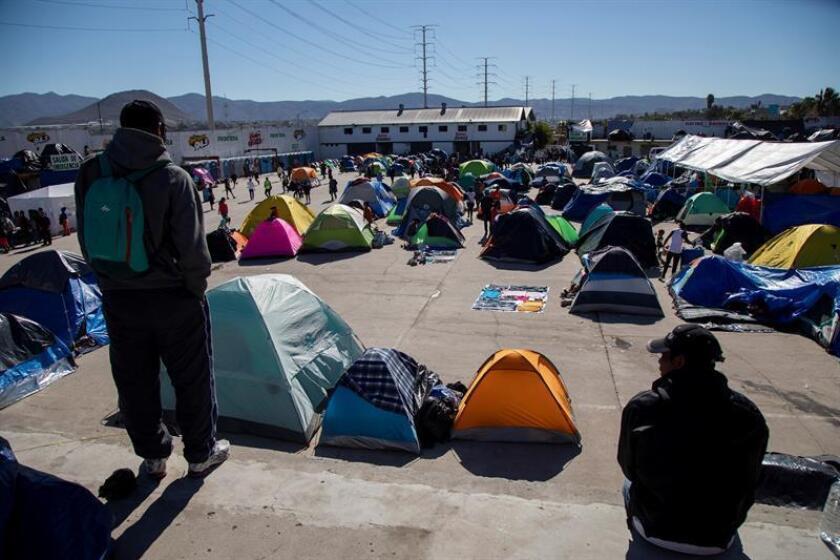 México afronta un reto sin precedentes al convertirse en un nuevo país receptor de inmigrantes mientras el sistema de acogida colapsa en Estados Unidos, afirmaron hoy expertos consultados por el laboratorio de ideas Center for American Progress (CAP). EFE/Archivo
