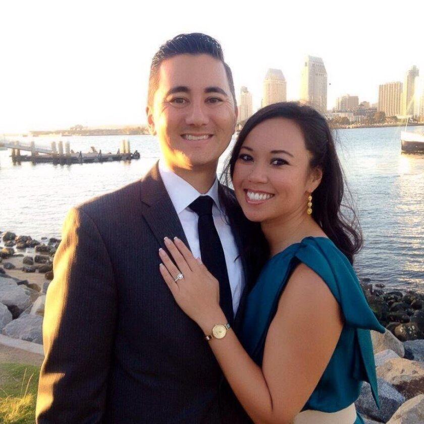 With his election to San Diego City Council successful, Chris Cate is now planning his wedding to fiance Maria Cabuang.