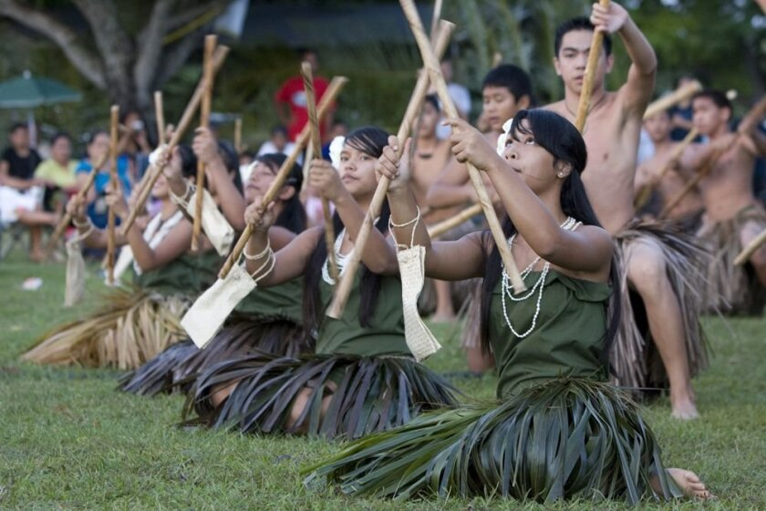 Traditional Chamorro dance performances are among the highlights of the Chamorro Festival Saturday.