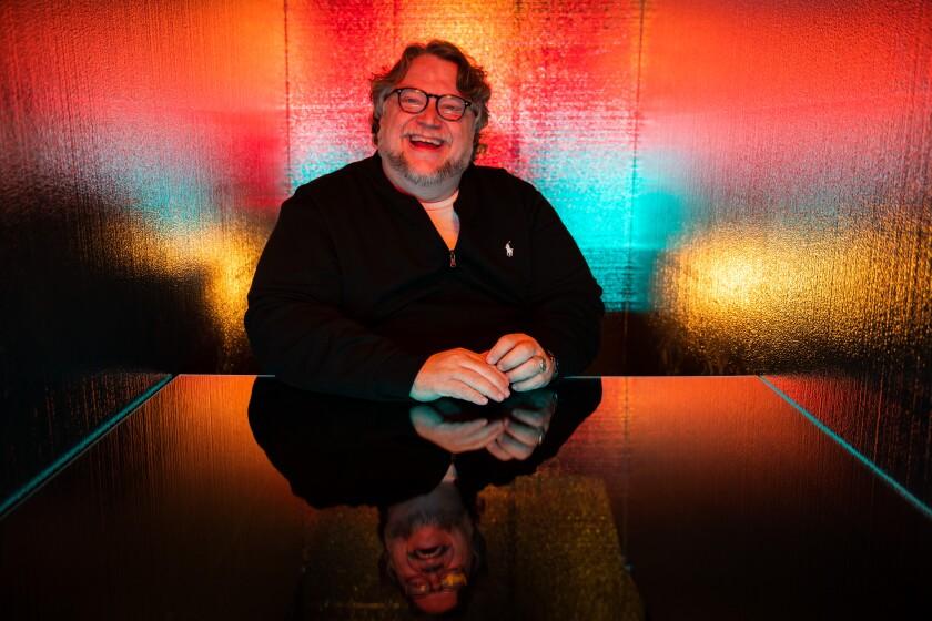 El director mexicano Guillermo del Toro en la Comic-Con International de 2019.