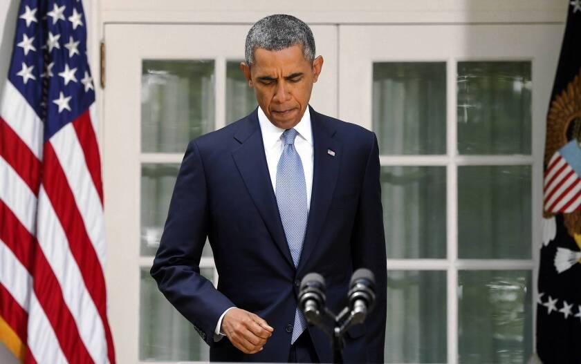 President Obama's U-turn on Syria is a gamble