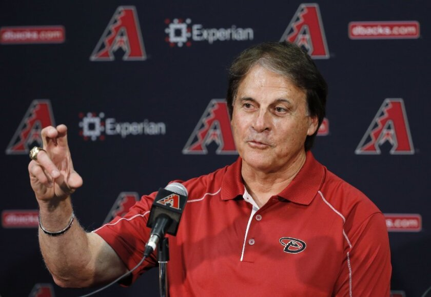 Tony La Russa was hired Thursday as manager of the Chicago White Sox.