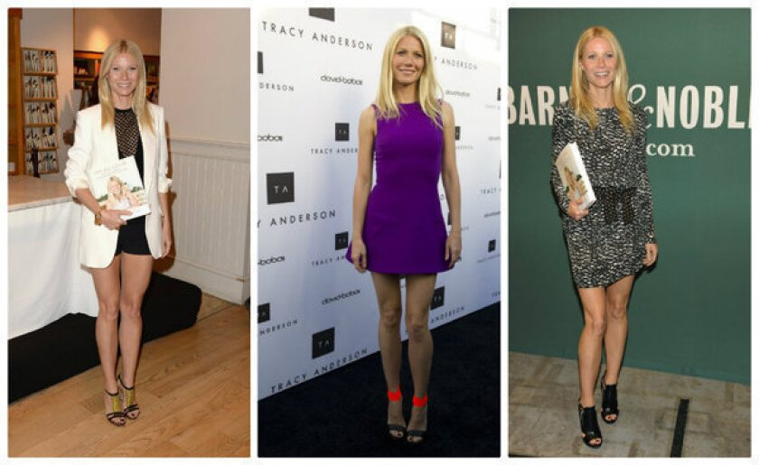 Gwyneth Paltrow rewriting the rules of age-appropriate dressing?