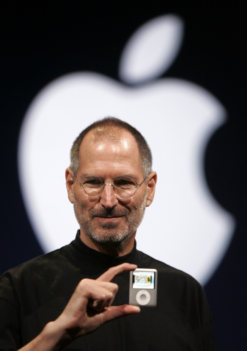 Steve Jobs, shown in 2007, will be featured on a U.S. postage stamp planned for 2015.
