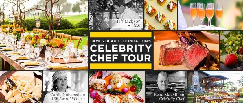The Lodge at Torrey Pines will partner with the James Beard Foundation's Celebrity Chef Tour for a comprehensive culinary weekend, May 29-31, 2015 and hosted by Jeff Jackson, executive chef at The Lodge at Torrey Pines.