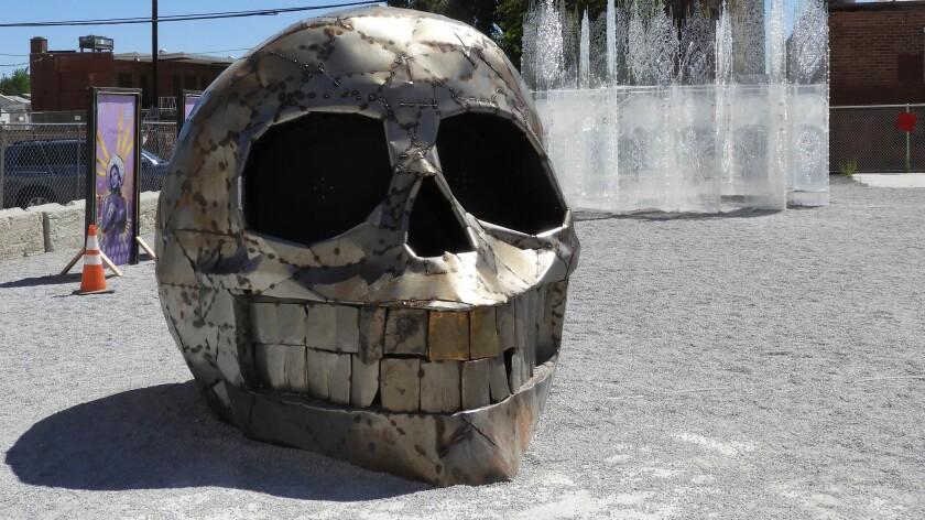 """Lumpy the Gate Skull"""
