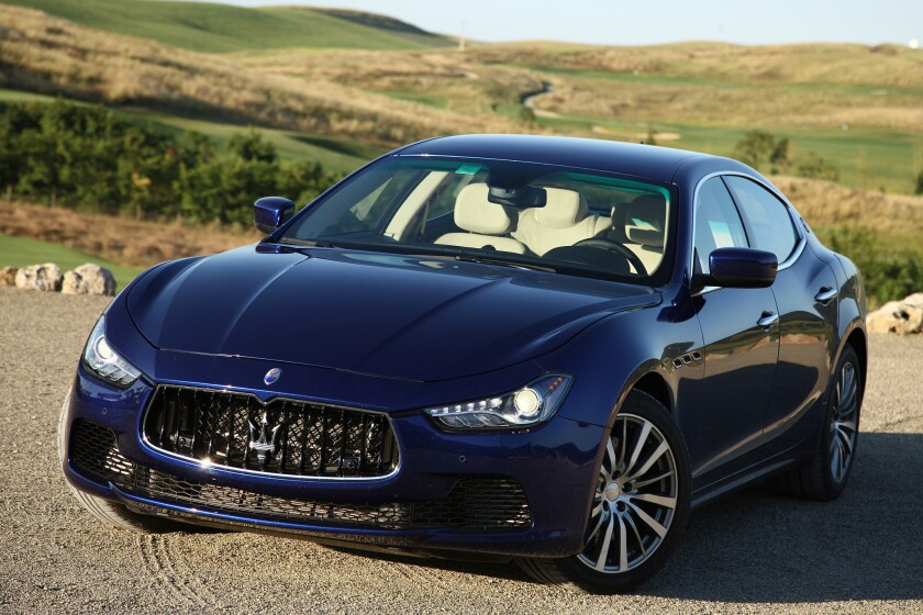 Who Owns Maserati >> A Maserati With Chrysler Parts Los Angeles Times