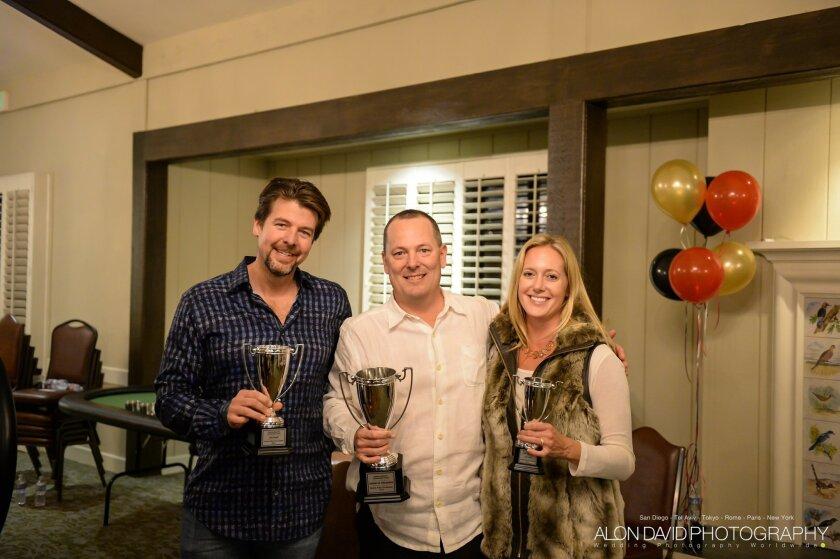 Winners: (L-R) Steve Flynn, Chad Hobbs, Melissa Rene