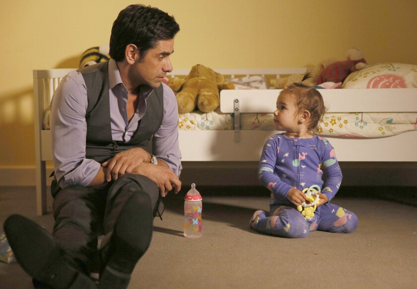 """John Stamos appears in a scene from """"Grandfathered,"""" premiering Sept. 29, on Fox."""