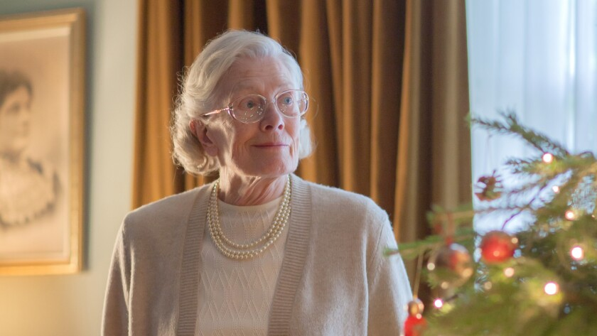 """Vanessa Redgrave in the """"Call the Midwife Holiday Special"""""""