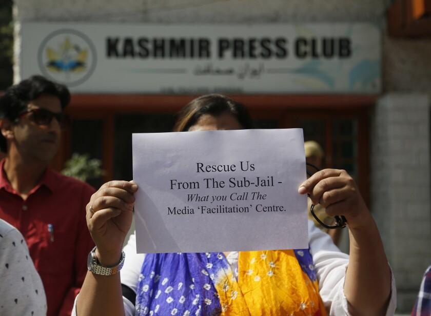 India Kashmir Press Freedom