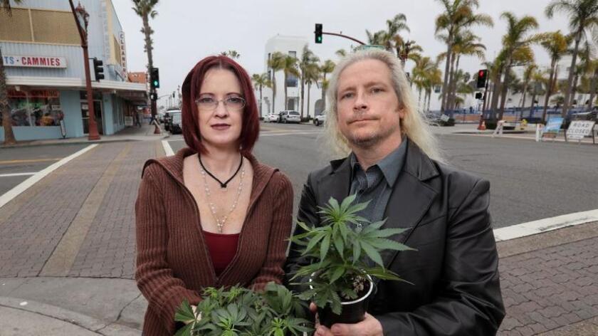 Marijuana store fronts