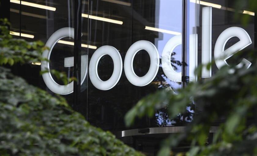 The Google logo. EFE/EPA/FILE