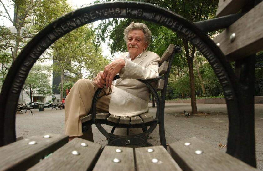 Kurt Vonnegut in 2005.