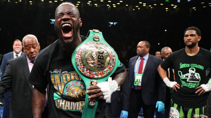 Deontay Wilder explains why he...