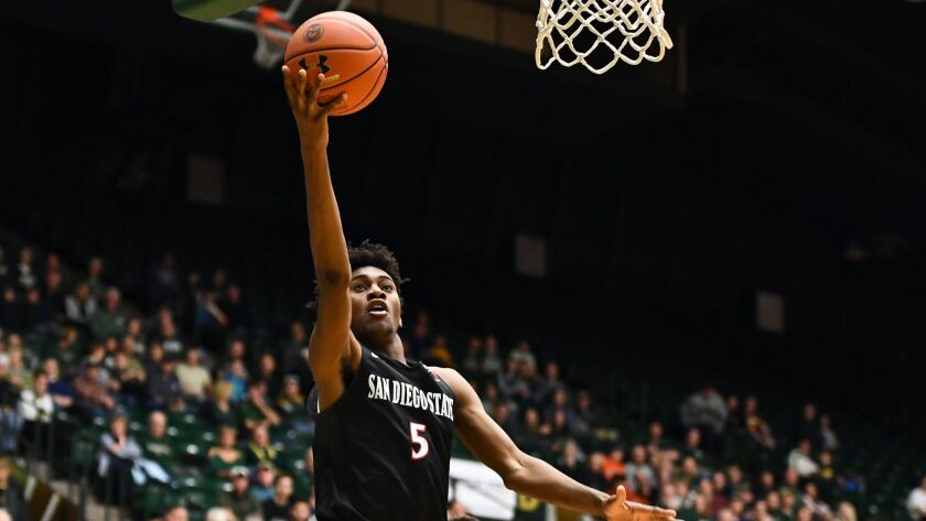 NCAA Basketball: San Diego State at Colorado State