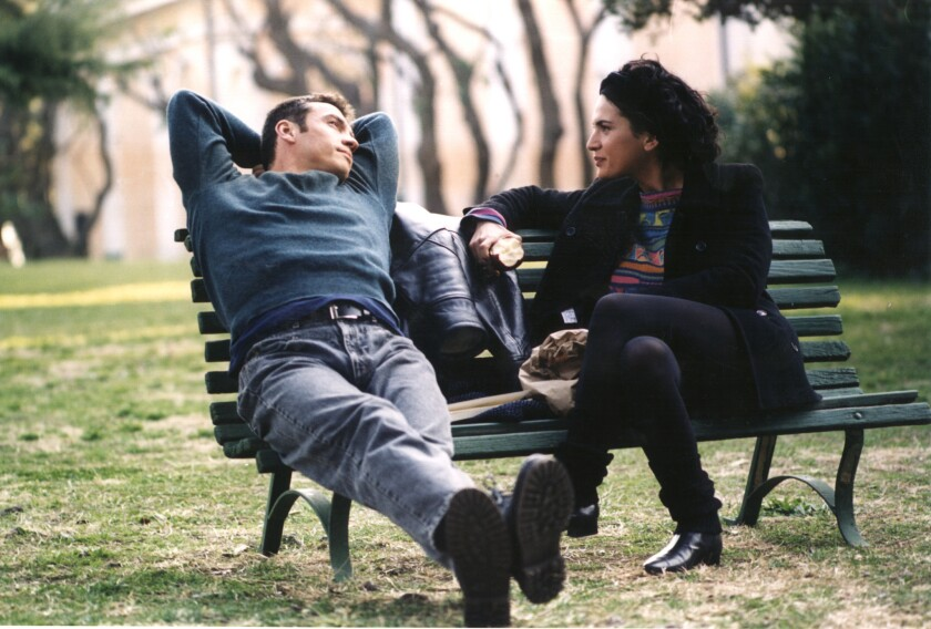 "Alessio Boni, left, and Maya Sansa in ""The Best of Youth,"" which critic Kenneth Turan named one of the best films of 2005."