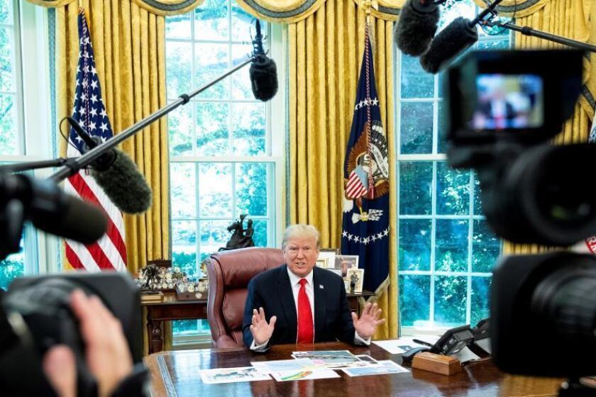 """Trump ve """"posible"""" reunirse con Rohaní durante la Asamblea General de la ONU"""