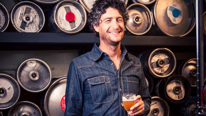 Tony Yanow, one of the founders of Golden Road Brewing, which was bought by Anheuser-Busch InBev in September.