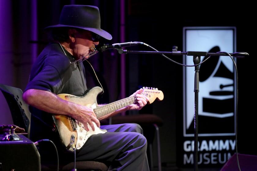 Singer-songwriter Tony Joe White
