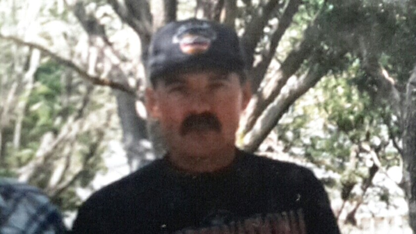 Richard Harvell went missing near the Tehachapi Mountains since Thursday. This is a younger photo of Harvell.