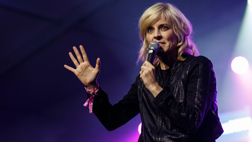 Maria Bamford performs