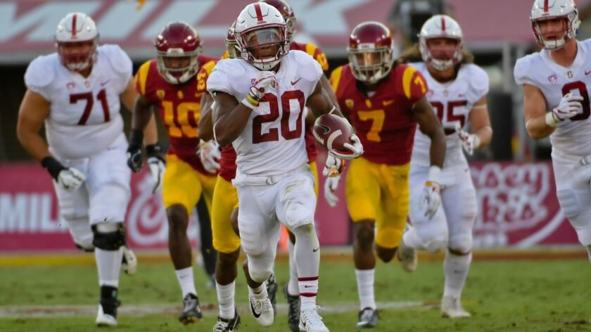 NCAA Football: Stanford at Southern California
