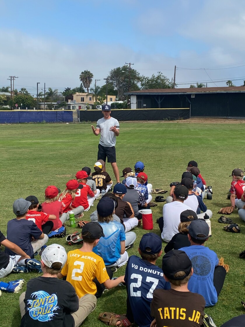 The SDA Mustangs held a successful youth baseball camp.