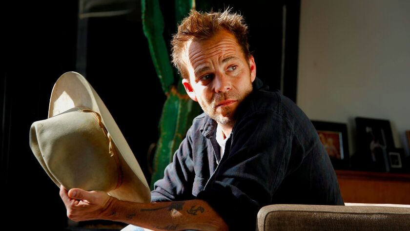 """Actor Stephen Dorff stars in """"Wheeler,"""" a new movie in which he plays an aspiring country singer."""