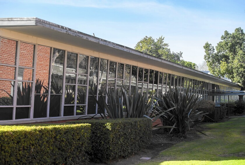 The old math building at Orange Coast College, designed by renowned architect Richard Neutra, is to be torn down under the college's Vision 2020 expansion plan.