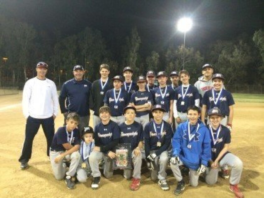 2013 13U RED TCS Christmas Qualifier Runner-up