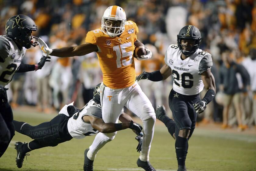 Vanderbilt Tennessee Football