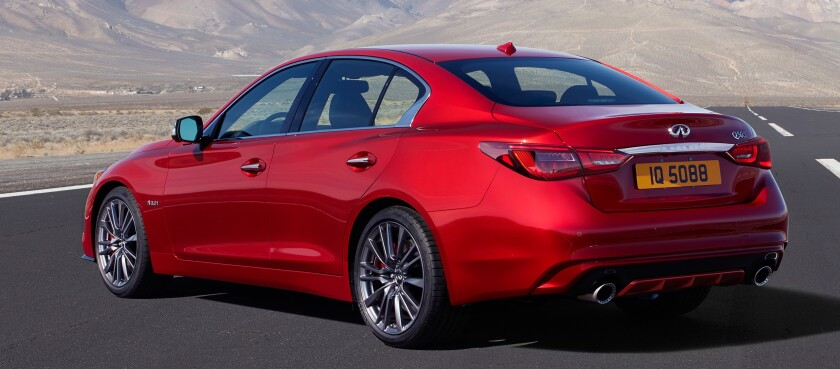 You can feel the energy of 400-hp with a push of the start button. But while the daily commute can be exciting, the performance is not to the level of some sport sedans in this segment.