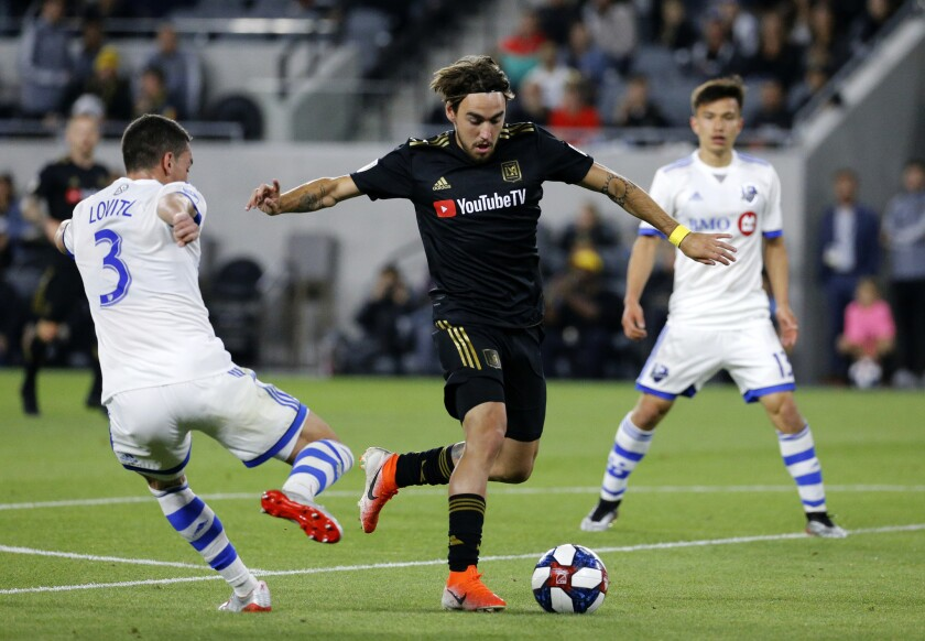 APphoto_MLS Impact Los Angeles FC Soccer