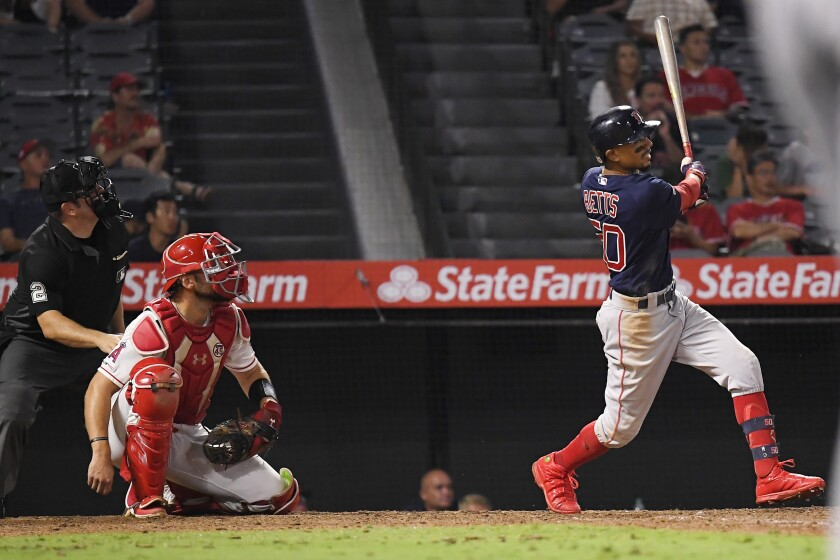 Red Sox beat Angels in extra innings