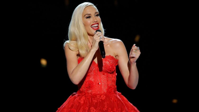 """Gwen Stefani hosts the new holiday special """"Gwen Stefani's You Make It Feel Like Christmas"""" on NBC."""