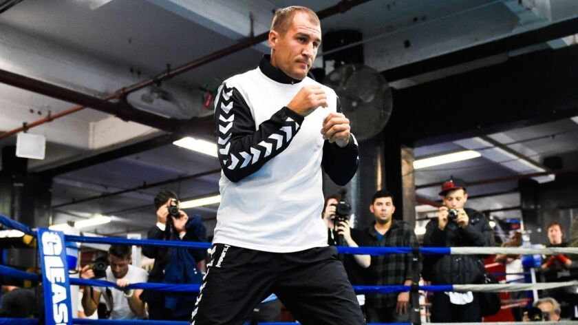 Bernard Hopkins & Sergey Kovalev Media Workout