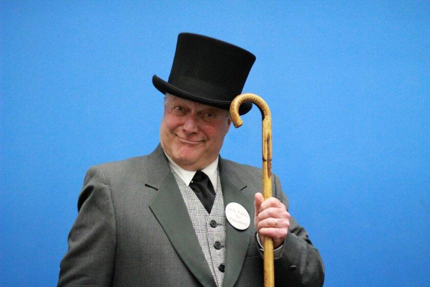 Dale Morris as W.C. Fields.