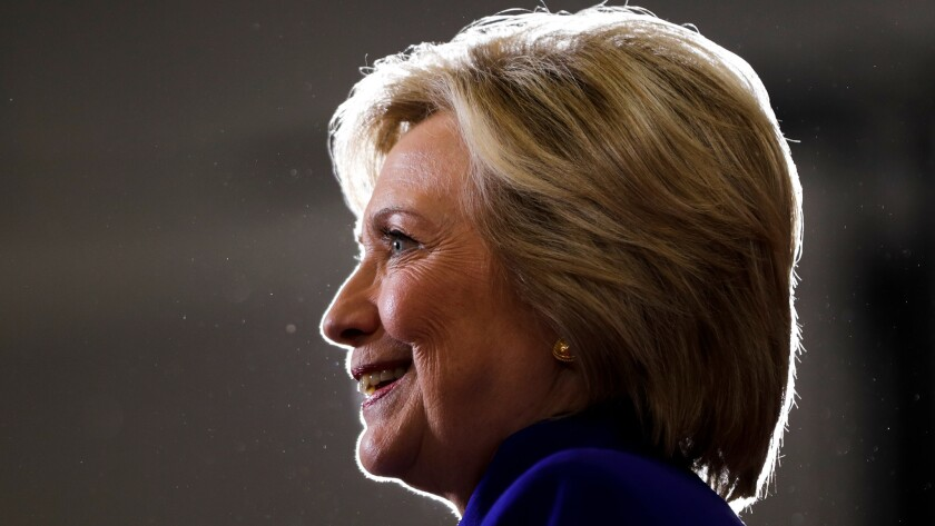 Democratic presidential candidate Hillary Clinton speaks in Orlando, Fla., on Sept. 21.