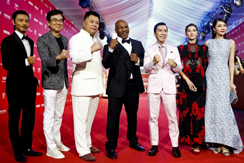Shi Jianxiang, Mike Tyson, Donnie Yen