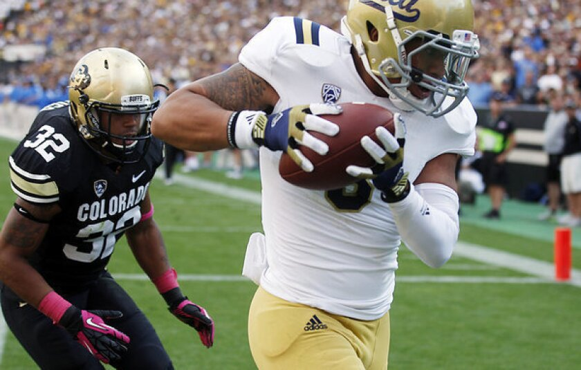 UCLA receiver Darius Bell out at least two weeks