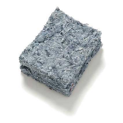 Bonded logic denim and cotton insulation