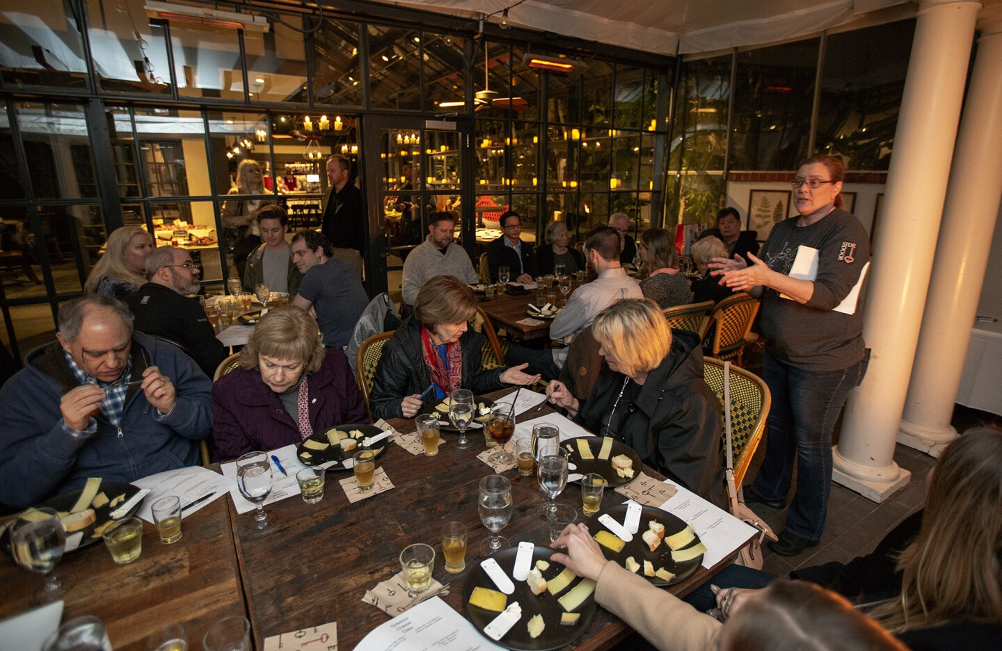 Photo Gallery: Cheese Education Class at the SideDoor