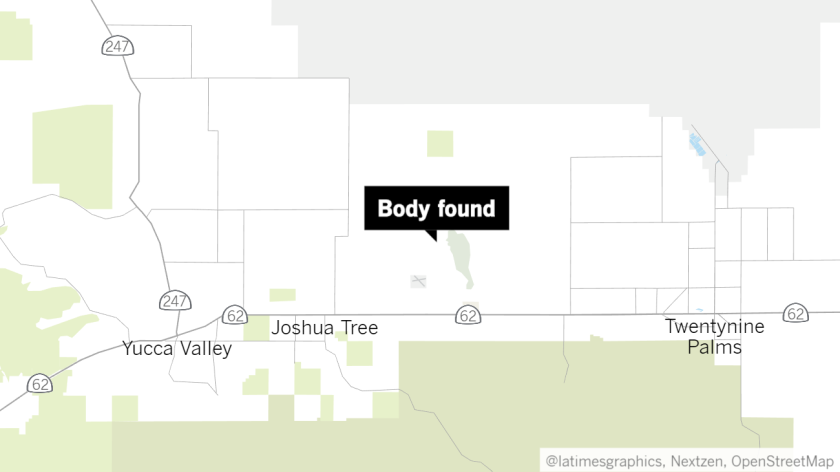Approximate location of where body was found.