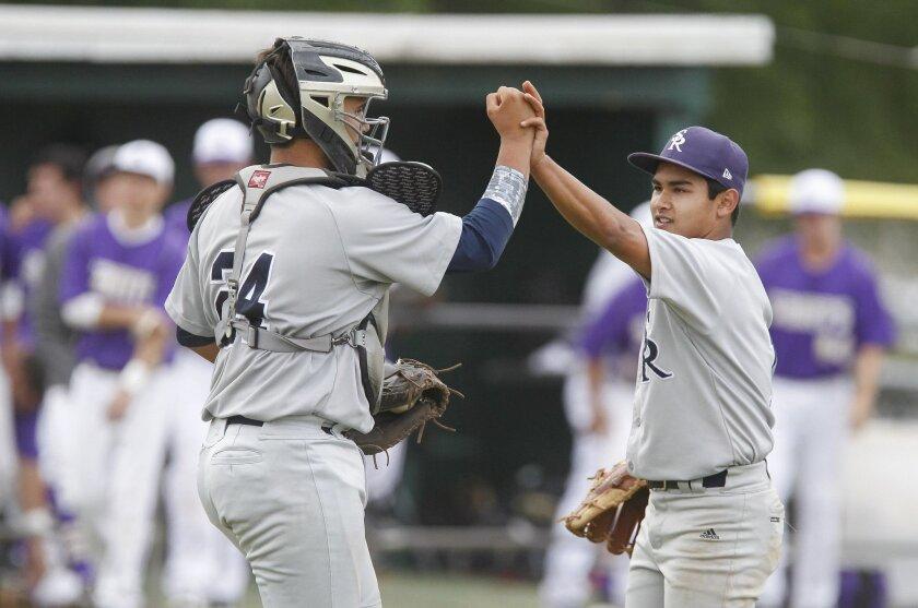 Scripps Ranch pitcher Matthew Rudick (right) has been named to the USA Baseball U17 National Team Development Program.