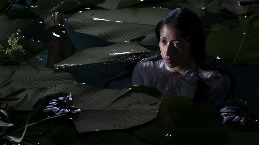 "María Mercedes Coroy in a scene from Guatemala's ""La Llorona."""