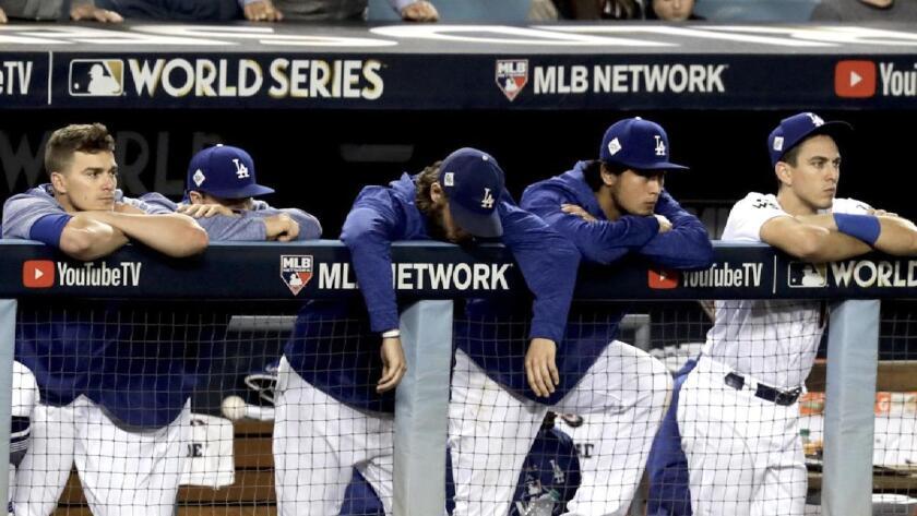 Serie Mundial 2018: Los Dodgers caen en la lucha por el título ante Boston.