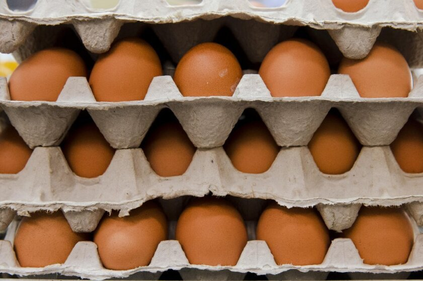 Egg prices increased across the nation as shoppers rushed to grocery stores to stock up.